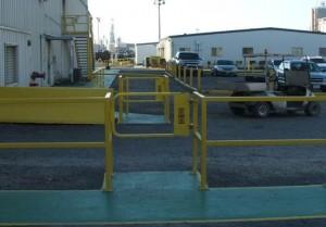 pedestrian safety gate