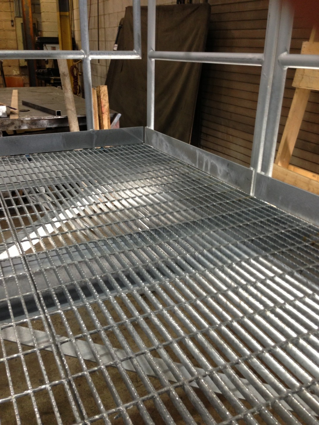 Outdoor Stairs For Construction Trailers