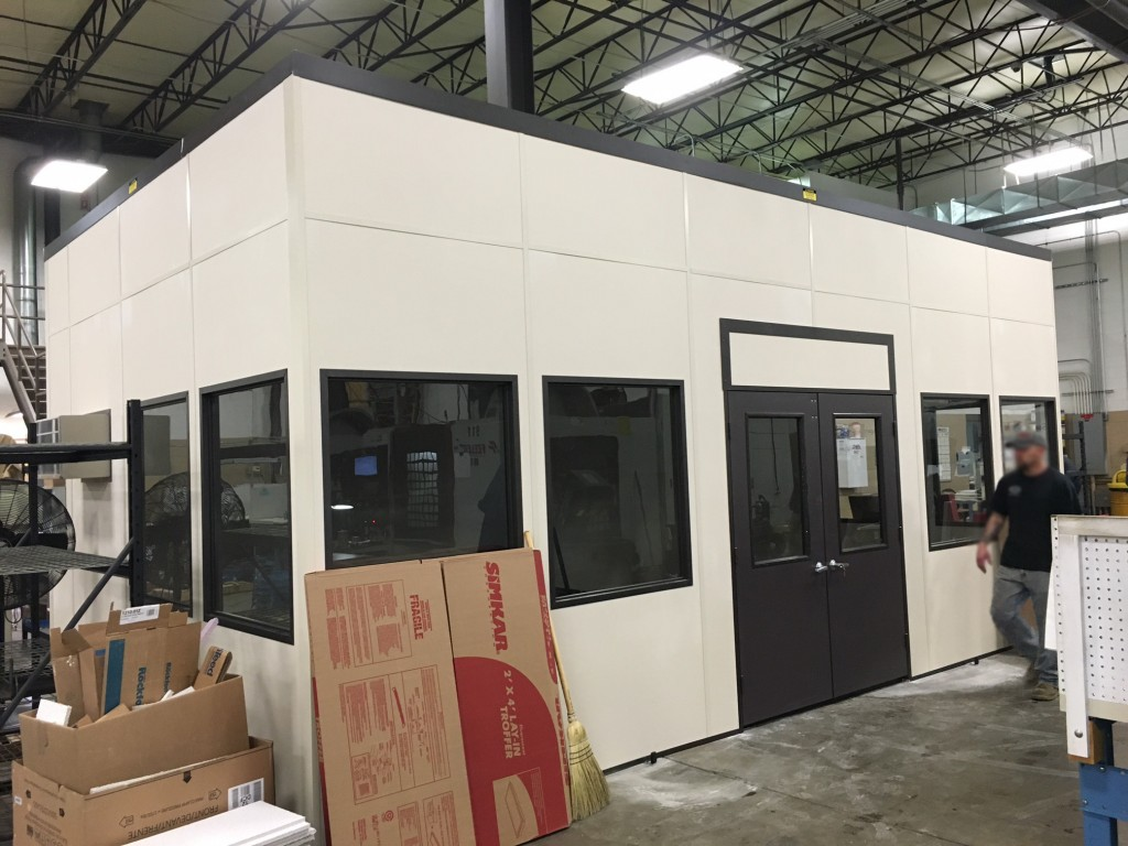 cmm room equipment enclosure