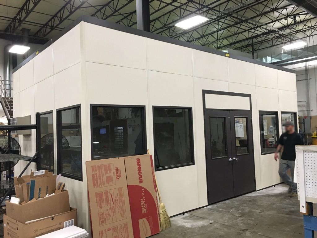 cmm room equipment enclosure