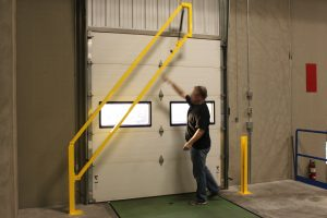 opening the Loading Dock Gate