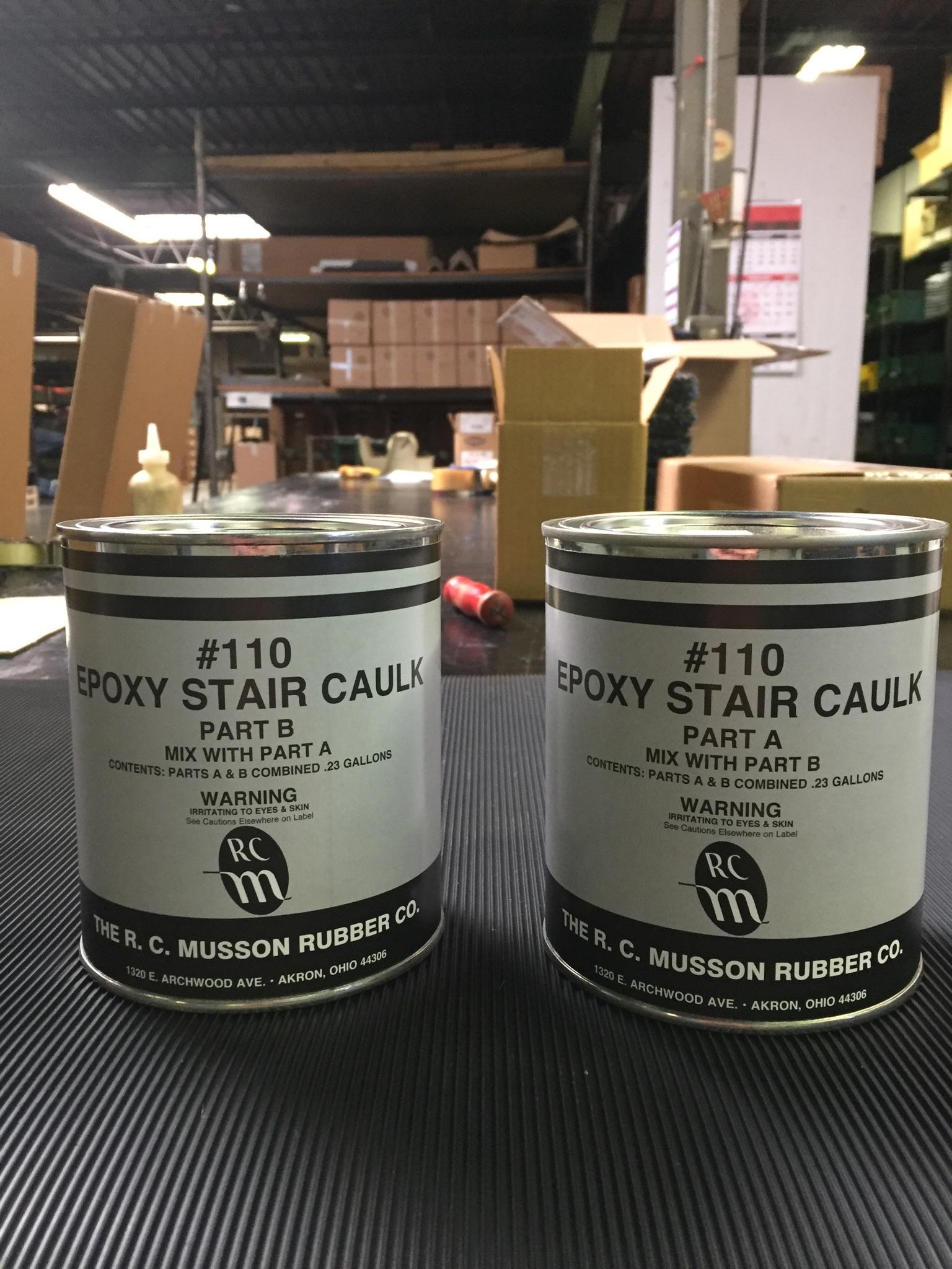 Floormatstore The Importance Of Nose Caulk - Caulk in a can