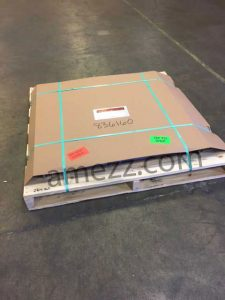 Angle frame floor hatch packaged and ready to ship