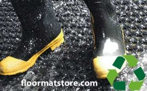 Olympian series drain thru rubber mats