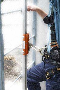 A-Mezz Personal Fall Arrest System Meets OSHA 1910.28