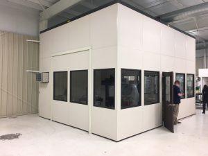Finished CMM enclosure