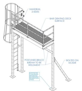 Inspection Platform ISO Drawing