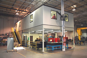 In-plant Industrial Offices, Commercial Modular Office Buildings