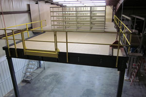 photo of a mezzanine