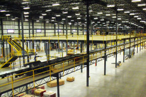 photo of warehouse mezzanine