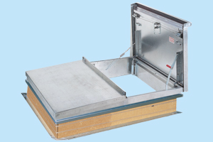 Aluminum Roof Hatches From A Mezz