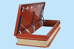 Galvanized Steel Roof Hatches