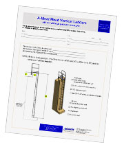 Fixed ladder worksheet
