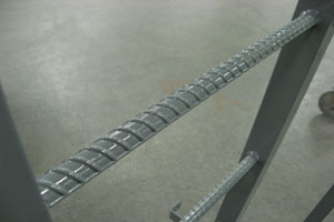 photo of metal ladder detail