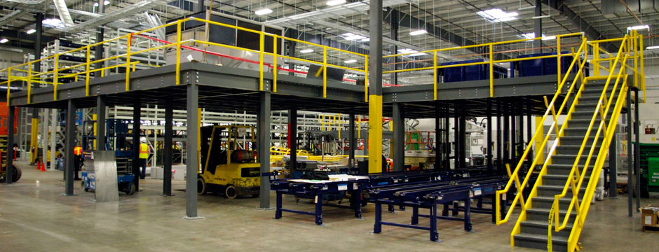 Industrial Mezzanines Modular Offices Material Lifts