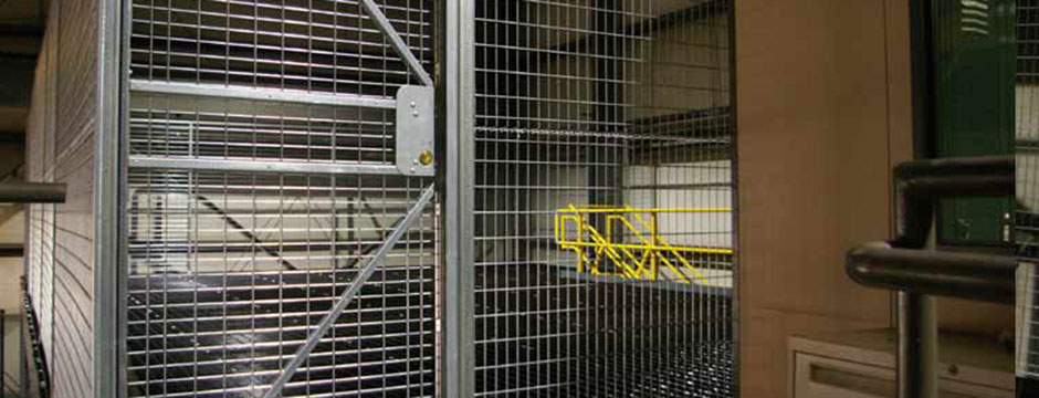 Wire partitions photo