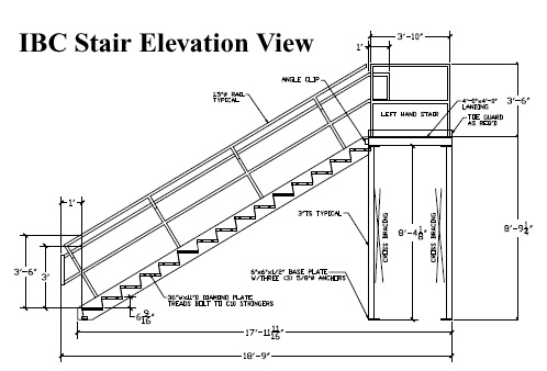 Ibc Stairs Code on deck detail drawings