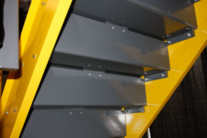 Pre Engineered Steel Stairs From A Mezz Industrial Structures