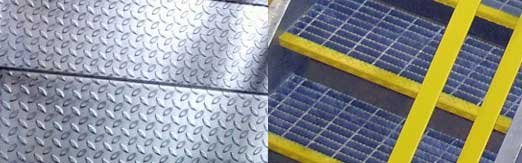Amazing Close Up Photo Of Various Industrial Stair Tread Options