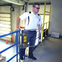 photo of MLG Industrial Ladder Safety Gates