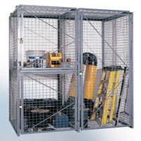 photo of bulk storage locker